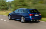 Mercedes-AMG E63 S Estate 2020 first drive review - hero rear