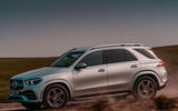 Mercedes-Benz GLE 400d 2019 UK first drive review - hero side