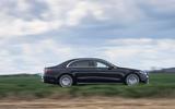 2 Mercedes S Class S400d 2021 UK FD hero side