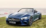 Mercdes-Benz SL Autocar render