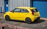 MG 3 Exclusive 2018 review static rear