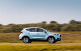 MG ZS EV 2019 UK first drive review - hero side