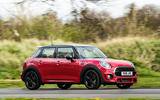 Mini Cooper 5dr 2018 UK review hero side