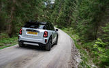 Mini Countryman Cooper S E All4 2020 first drive review - hero rear