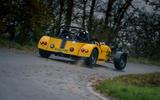 2 MK Indy RR Hayabusa 2021 UK first drive rear