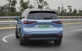 Nio ES8 2018 first drive review - hero rear