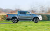 Nissan Navara 2020 UK first drive review - hero side