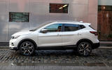 Nissan Qashqai 2018 UK first drive review - hero side
