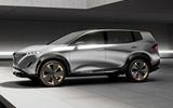 Nissan seven-seater EV render - static side