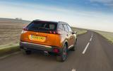 Peugeot 2008 GT Line rear tracking