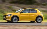 Peugeot 208 2020 prototype drive - hero side