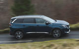 Peugeot 5008 2020 UK First Drive review - hero side