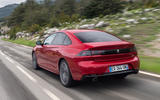 Peugeot 508 2018 review hero rear