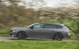 2 Peugeot 508 PSE 2021 UK first drive review hero side