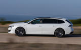 Peugeot 508 SW 2018 first drive review - hero side