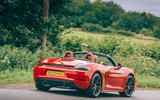 Porsche 718 Boxster GTS 4.0 2020 UK first drive review - hero rear