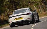 Porsche 718 Cayman GTS 2018 UK review hero rear