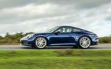 Porsche 911 Carrera S manual 2020 first drive review - hero side