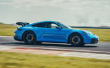2 Porsche 911 GT3 2021 UK first drive review hero side