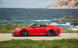 Porsche 911 Speedster 2019 first drive review - hero side