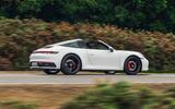 Porsche 911 Targa 2020 UK first drive review - hero side