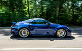 Porsche 911 Turbo S Cabriolet 2020 UK first drive review - hero side