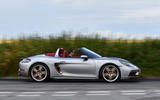 2 Porsche Boxster 25 years edition 2021 uk fd hero side