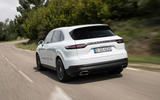 Porsche Cayenne E-Hybrid 2018 review hero rear