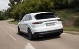 Porsche Cayenne E-Hybrid 2018 review hero rear