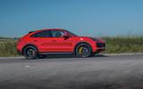 Porsche Cayenne GTS 2020 UK first drive review - hero side