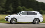 Porsche Cayenne Turbo S E-hybrid 2019 first drive review - hero side