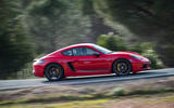 Porsche Cayman T 2019 first drive review - hero side
