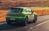 Porsche Macan 2019 first drive review - hero rear