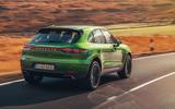 Porsche Macan 2019 first drive review - hero rear
