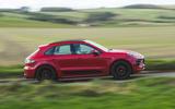 Porsche Macan GTS 2020 UK first drive review - hero side
