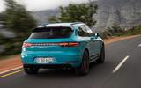 Porsche Macan Turbo 2019 first drive review - hero rear