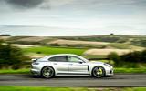 Porsche Panamera e-Hybrid 2020 UK first drive review - hero side