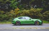 Porsche Panamera GTS 2019 UK first drive review - hero side
