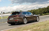 Porsche Panamera Turbo S Sport Turismo 2020 first drive review - hero rear