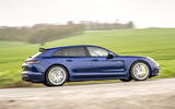 2 Porsche Panamera Turbo S E Hybrid ST 2021 UK FD hero side