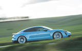 Porsche Taycan 4S 2020 UK first drive review - hero side