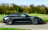 Porsche Taycan Turbo 2020 UK first drive review - hero side