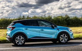 Renault Captur E-Tech PHEV 2020 UK first drive review - hero side