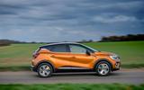 Renault Captur E-Tech PHEV RHD 2020 UK first drive review - hero side
