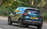 Renault Captur Iconic TCe 90 2018 UK first drive - hero rear