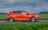 Renault Clio E-Tech hybrid 2020 UK first drive review - hero side