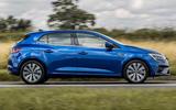 2 Renault Megane E Tech phev 2021 UK FD hero side