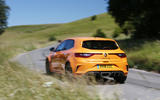 Renault Megane RS 2018 UK first drive hero rear
