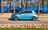 Renault Zoe GT Line R135 2019 first drive review - hero side