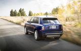 Rolls-Royce Cullinan 2018 first drive rear tracking